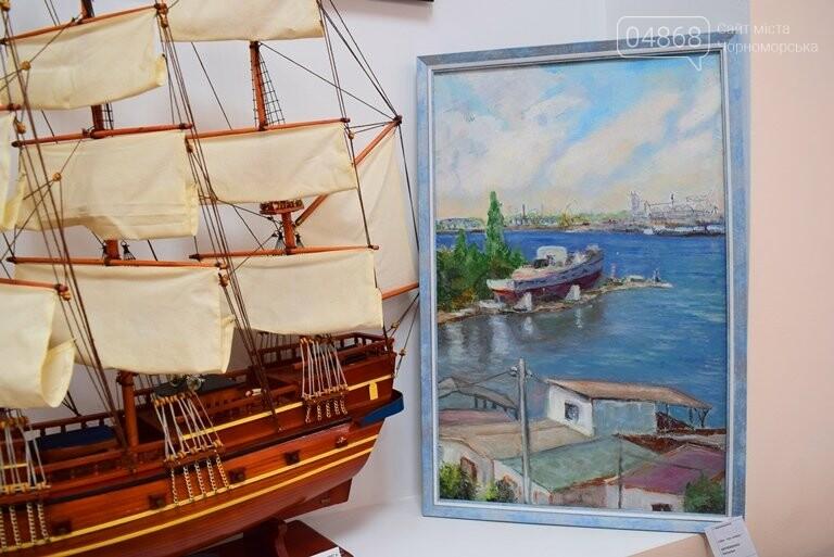 Картины «НИКИ» с видами Черноморска путешествуют, рассказывая о красоте нашего города, фото-2