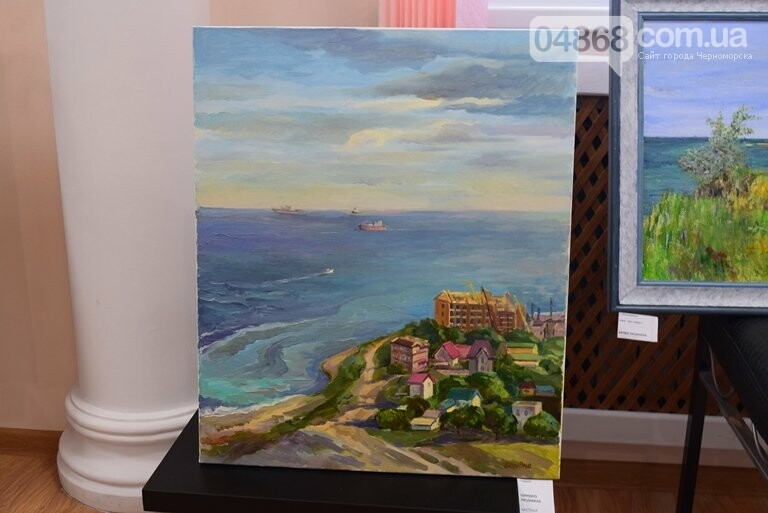 Картины «НИКИ» с видами Черноморска путешествуют, рассказывая о красоте нашего города, фото-11