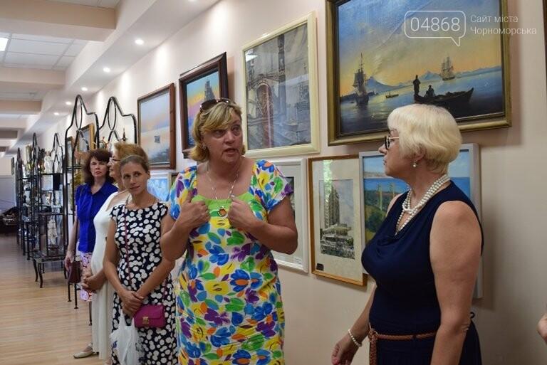 Картины «НИКИ» с видами Черноморска путешествуют, рассказывая о красоте нашего города, фото-8