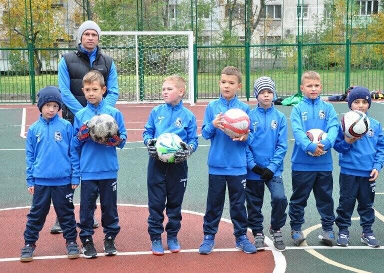 В Черноморске открыли современную спортивную площадку , фото-2