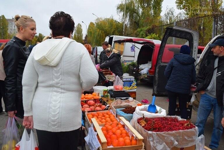 В Черноморске проходит осенняя ярмарка: раки по 250, картофель – по 5.50, фото-32