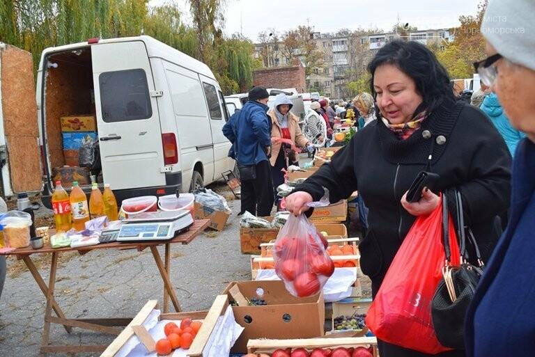 В Черноморске проходит осенняя ярмарка: раки по 250, картофель – по 5.50, фото-2