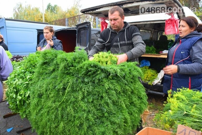 В Черноморске проходит осенняя ярмарка: раки по 250, картофель – по 5.50, фото-12