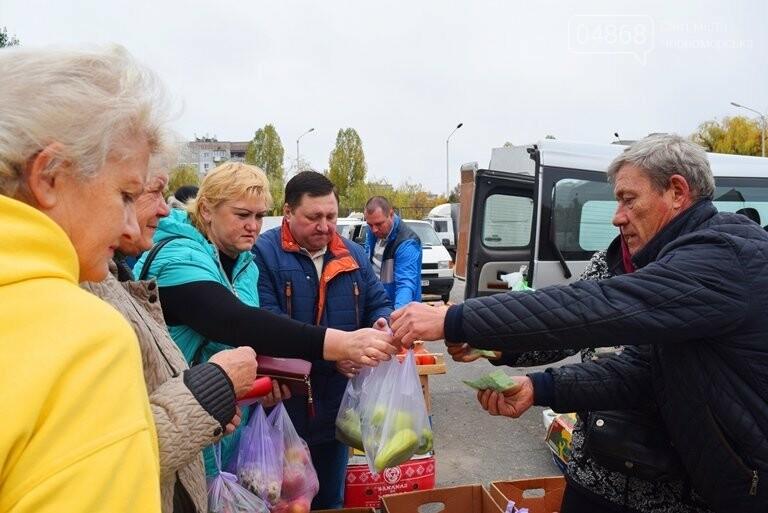 В Черноморске проходит осенняя ярмарка: раки по 250, картофель – по 5.50, фото-17