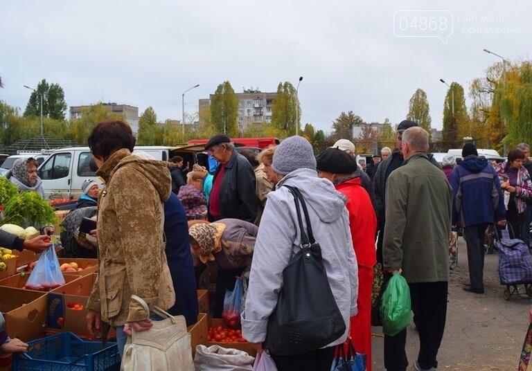 В Черноморске проходит осенняя ярмарка: раки по 250, картофель – по 5.50, фото-20