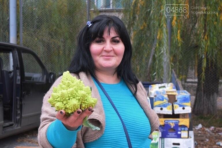 В Черноморске проходит осенняя ярмарка: раки по 250, картофель – по 5.50, фото-7