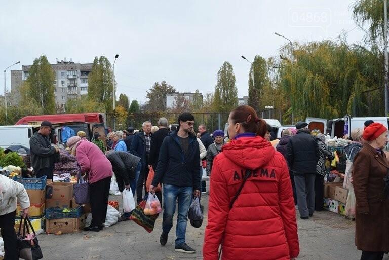В Черноморске проходит осенняя ярмарка: раки по 250, картофель – по 5.50, фото-26