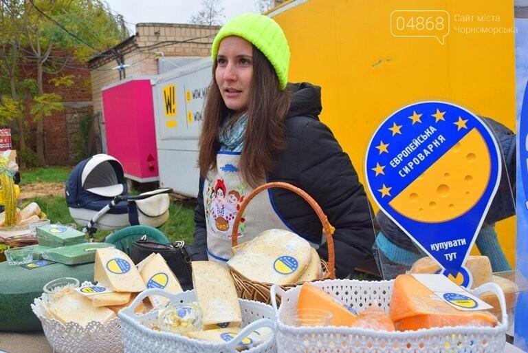 В Черноморске проходит осенняя ярмарка: раки по 250, картофель – по 5.50, фото-27