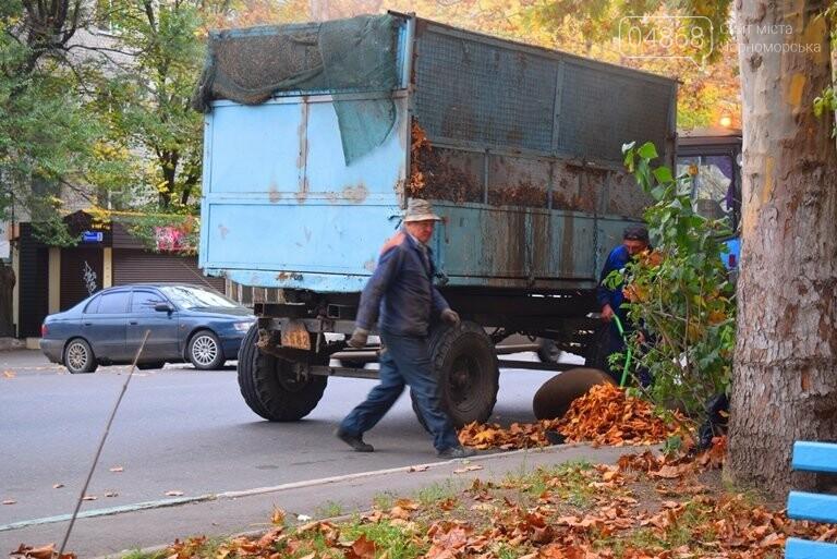 В Черноморске пройдёт осенний субботник, фото-5