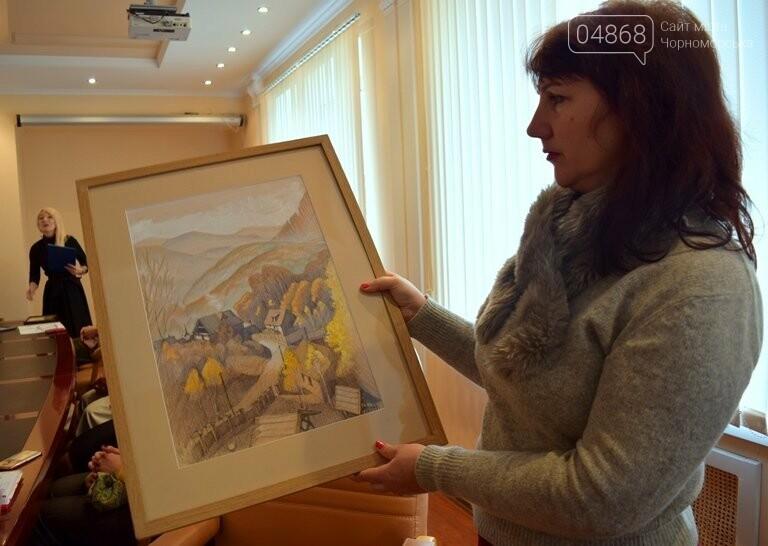Диплом победителя и 5 тысяч гривен: в Черноморске вручили литературную премию им. В. Сагайдака, фото-6