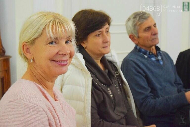 Многогранный талант: в Черноморске прошёл творческий вечер Анны Драй, фото-12