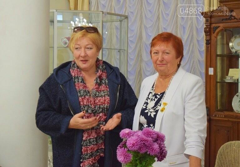 Многогранный талант: в Черноморске прошёл творческий вечер Анны Драй, фото-10