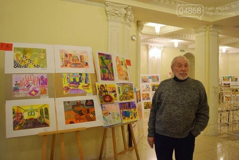 «Дом мечты»: в Черноморске завершился  конкурс юных художников, фото-19