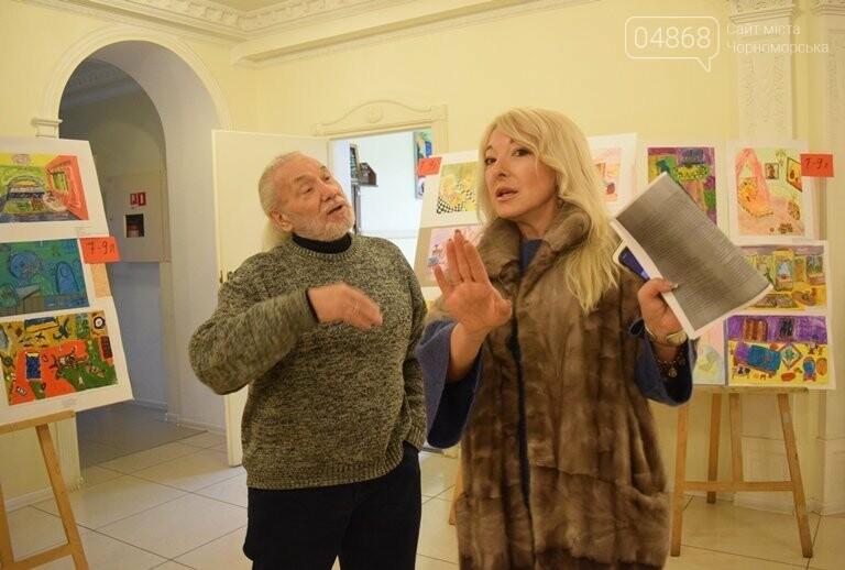 «Дом мечты»: в Черноморске завершился  конкурс юных художников, фото-2