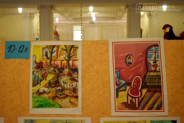 «Дом мечты»: в Черноморске завершился  конкурс юных художников, фото-21