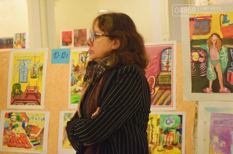 «Дом мечты»: в Черноморске завершился  конкурс юных художников, фото-24