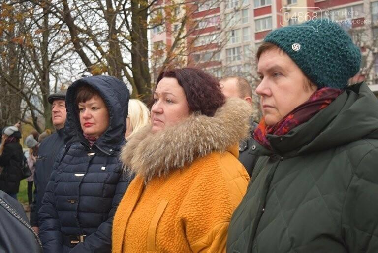 100 гвоздик на аллее Небесной сотни: в Черноморске отметили День Достоинства и Свободы, фото-19