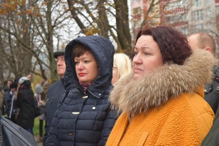 100 гвоздик на аллее Небесной сотни: в Черноморске отметили День Достоинства и Свободы, фото-2