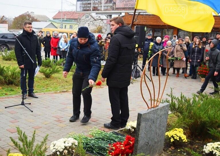 100 гвоздик на аллее Небесной сотни: в Черноморске отметили День Достоинства и Свободы, фото-7
