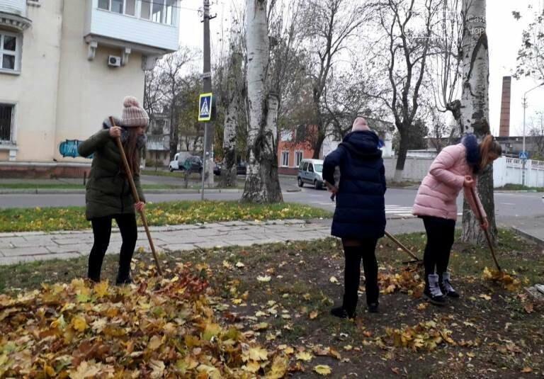 Субботник в Черноморске: как это было, фото-13