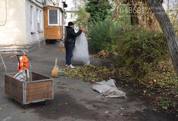 Субботник в Черноморске: как это было, фото-2