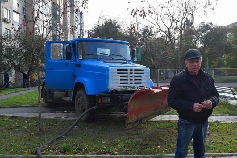 Субботник в Черноморске: как это было, фото-15