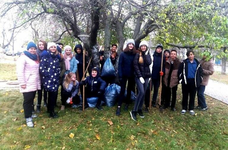 Субботник в Черноморске: как это было, фото-11