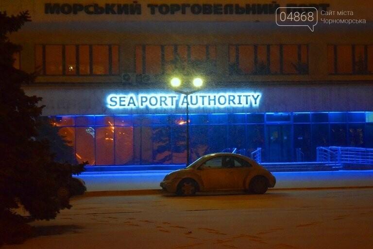 «Остаёмся зимовать»: Черноморск засыпает снегом (фото), фото-8