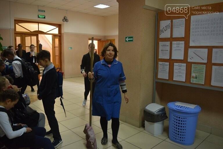 Уборка классов в школах Черноморска: должны ли в ней участвовать школьники?   , фото-2