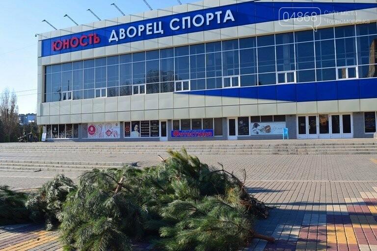 В Черноморске устанавливают главную городскую ёлку, фото-9