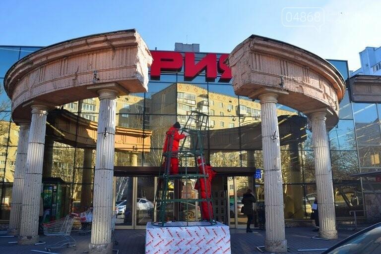 В Черноморске устанавливают главную городскую ёлку, фото-5