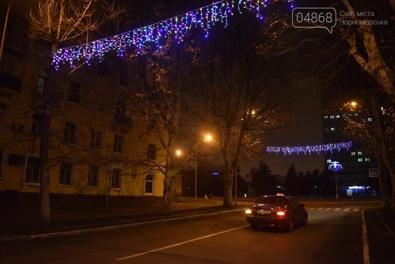 «Огни ночного города»: к новогодним праздникам Черноморск украсит новая иллюминация, фото-6