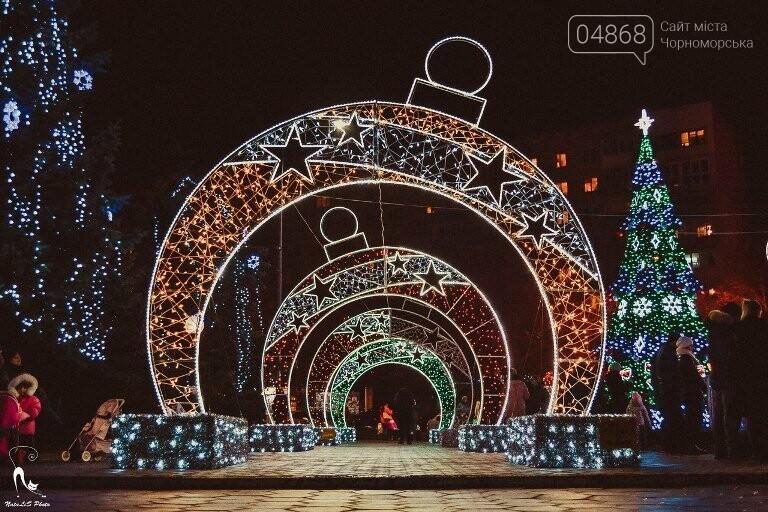 «Огни ночного города»: к новогодним праздникам Черноморск украсит новая иллюминация, фото-3