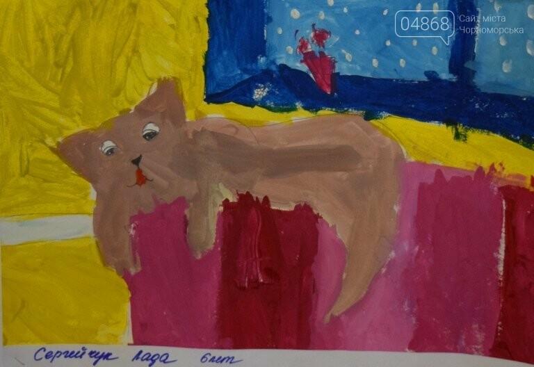 Рыжие коты, золотистые листья и книги: арт-студия «Кисточка» показала осенний Черноморск, фото-15