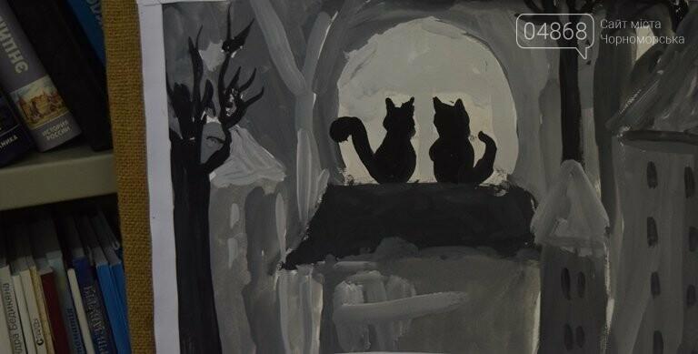 Рыжие коты, золотистые листья и книги: арт-студия «Кисточка» показала осенний Черноморск, фото-16