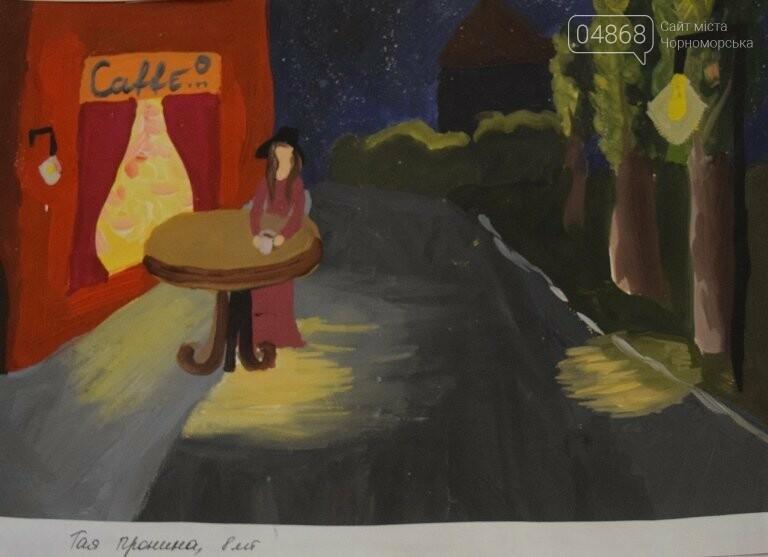 Рыжие коты, золотистые листья и книги: арт-студия «Кисточка» показала осенний Черноморск, фото-17