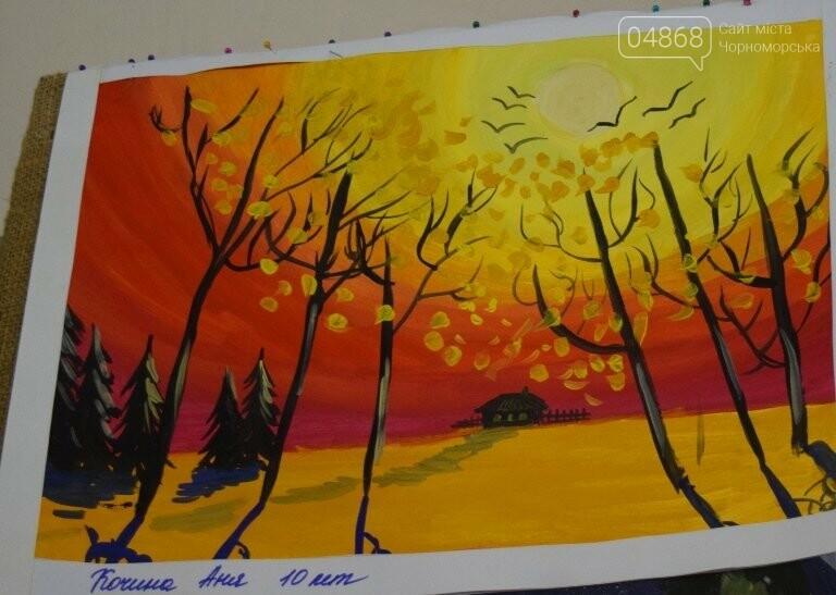 Рыжие коты, золотистые листья и книги: арт-студия «Кисточка» показала осенний Черноморск, фото-18