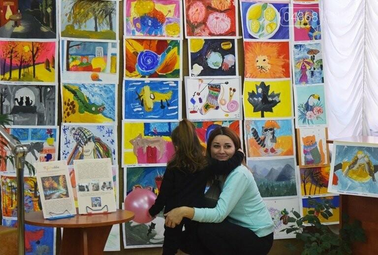 Рыжие коты, золотистые листья и книги: арт-студия «Кисточка» показала осенний Черноморск, фото-1
