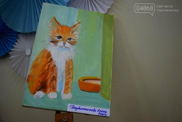 Рыжие коты, золотистые листья и книги: арт-студия «Кисточка» показала осенний Черноморск, фото-2
