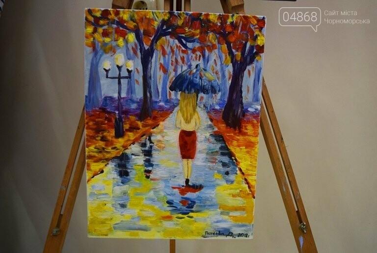 Рыжие коты, золотистые листья и книги: арт-студия «Кисточка» показала осенний Черноморск, фото-24