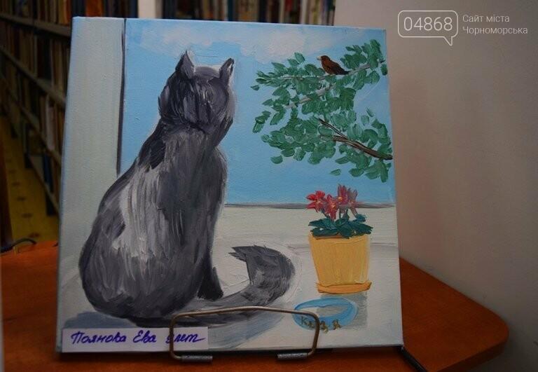 Рыжие коты, золотистые листья и книги: арт-студия «Кисточка» показала осенний Черноморск, фото-26