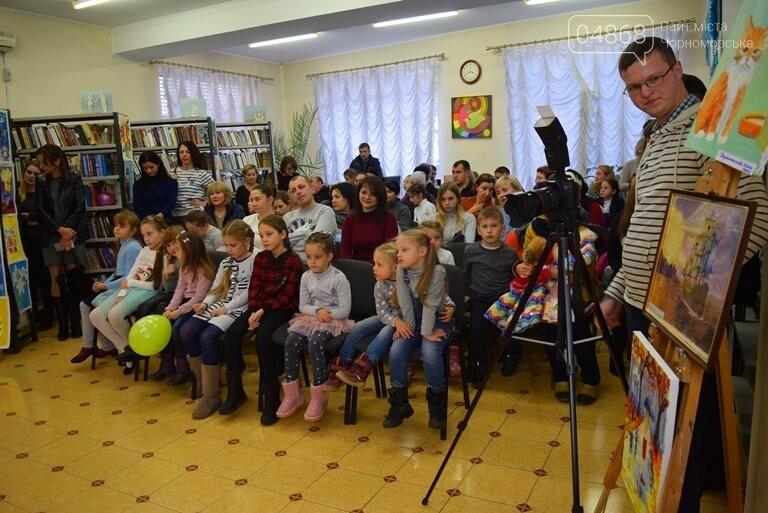 Рыжие коты, золотистые листья и книги: арт-студия «Кисточка» показала осенний Черноморск, фото-12