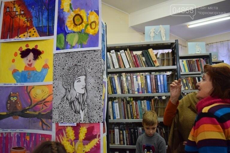Рыжие коты, золотистые листья и книги: арт-студия «Кисточка» показала осенний Черноморск, фото-28