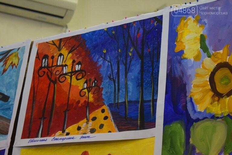Рыжие коты, золотистые листья и книги: арт-студия «Кисточка» показала осенний Черноморск, фото-29