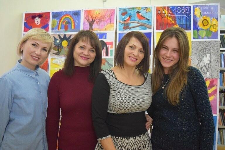 Рыжие коты, золотистые листья и книги: арт-студия «Кисточка» показала осенний Черноморск, фото-30