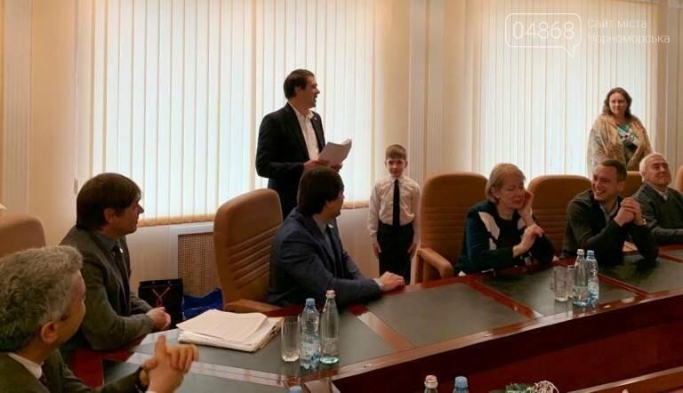 «Если бы я был депутатом»: старшеклассники Черноморска рассказали, каким они видят будущее нашего города, фото-10