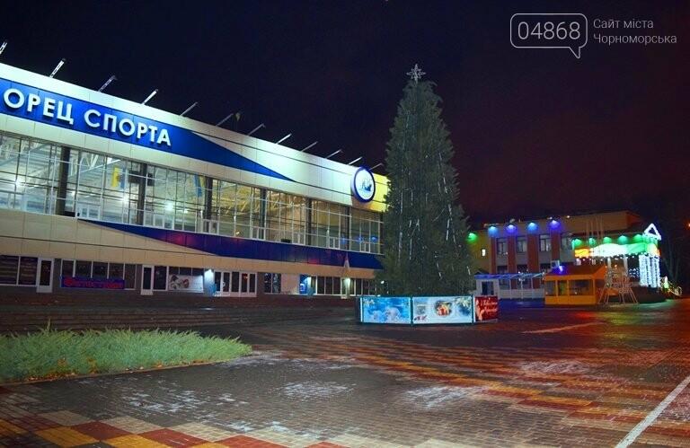 Кражей гирлянд с главной новогодней ёлки Черноморска занялась полиция, фото-3