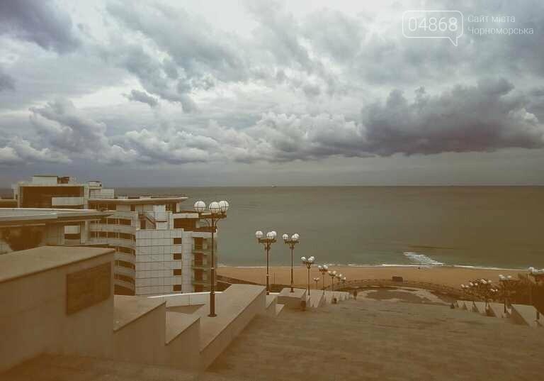 В ближайшую неделю синоптики обещают в Черноморске пасмурную погоду, гололёд и небольшой дождь, фото-1