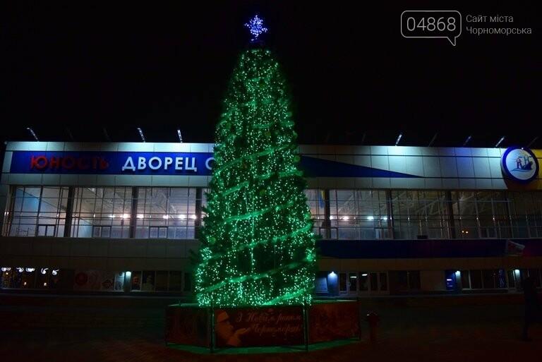 В Черноморске засверкала огнями новогодняя ёлка от «Люмьера», фото-9