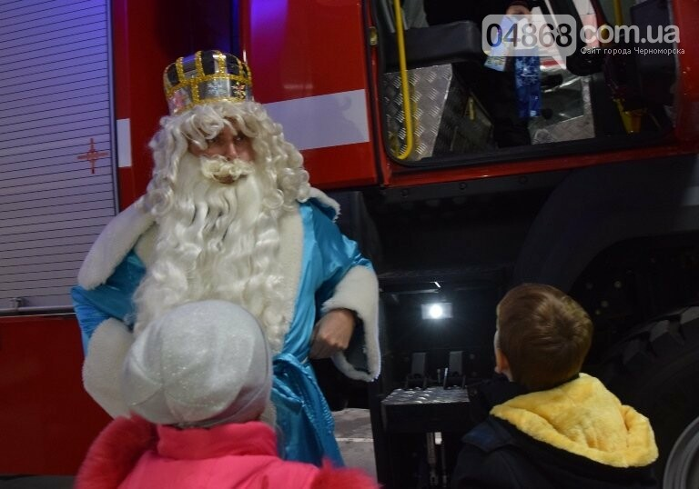 Спасатели Черноморска провели марафон добра «Спаси детские мечты!», фото-23